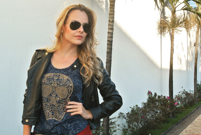 Look do dia: Calça Flare + T-shirt!