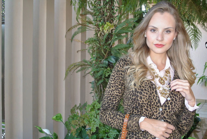 Look do dia: Animal Print