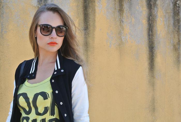 Look do dia: Varsity Jacket