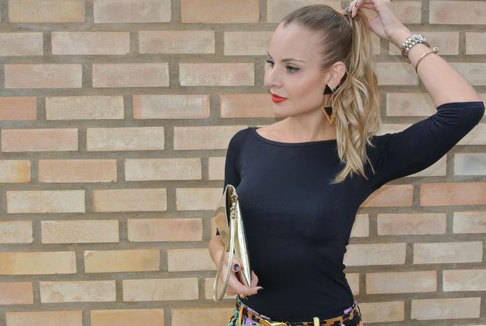 Look do dia: Floral Dark Print