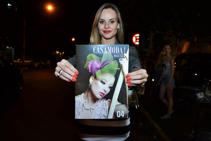 Lançamento da revista Casa Moda deLuxe