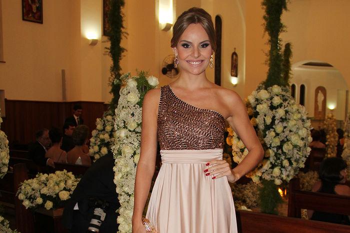 Look Casamento Nabilla & Anderson