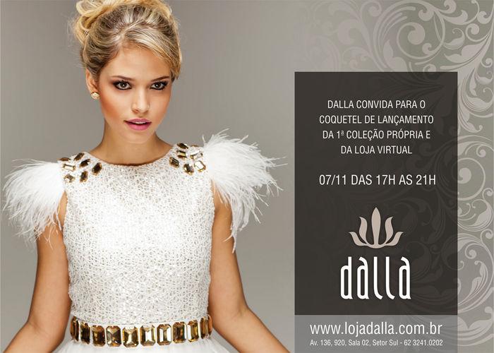Convite – Loja Dalla