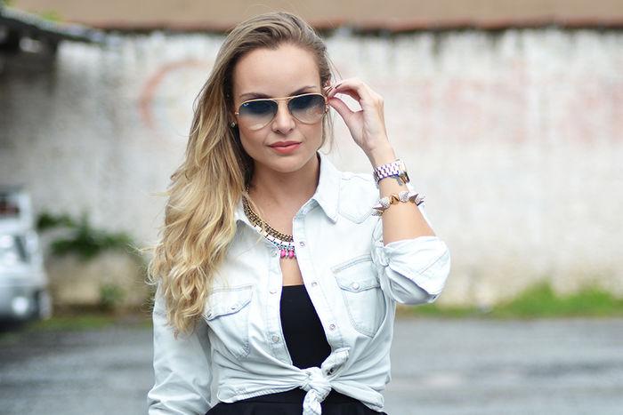 Look do Dia: Peplum + Jeans