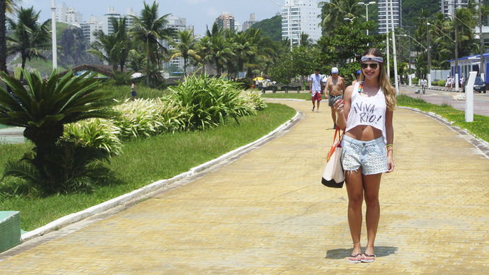Look praia: Viva Rio