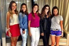 O Team Schutz Lovers: Eu, Mariana Cardoso, Patricia Prado , Sheyla Doumit  e Thais Rossit