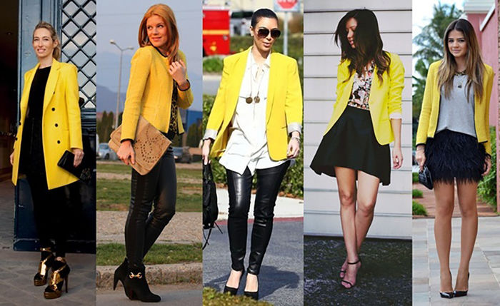 blazer amarelo como usar 4