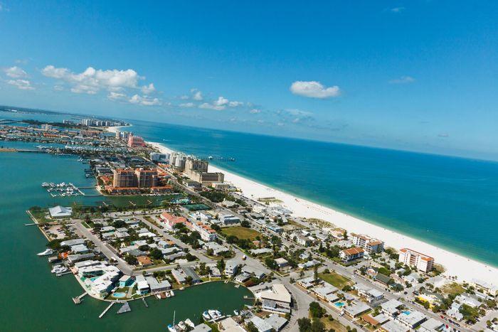 Clearwater Beach - Aerial