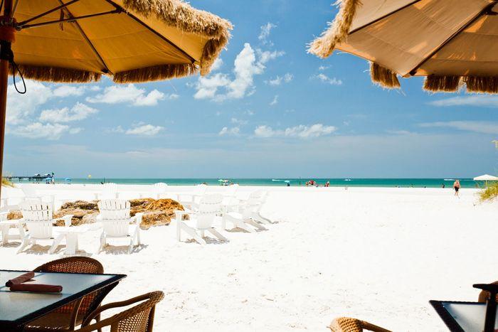 Clearwater Beach - Beach Dining