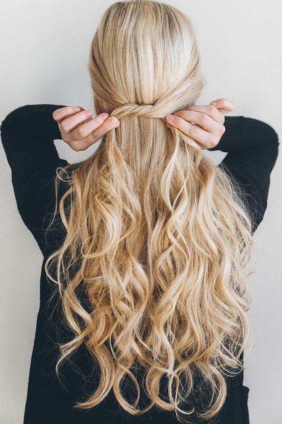 Hair: Meio preso é a nova onda!
