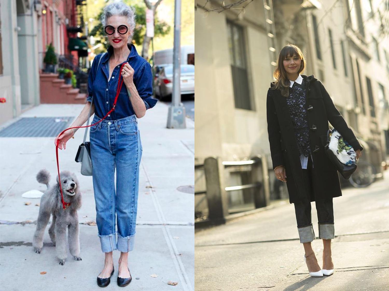 Truque de Estilo: O jeito de dobrar a barra do jeans não é mais o mesmo!