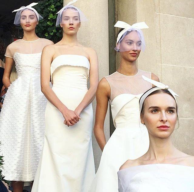 Inspiração para as noivas: Bridal Fashion Week
