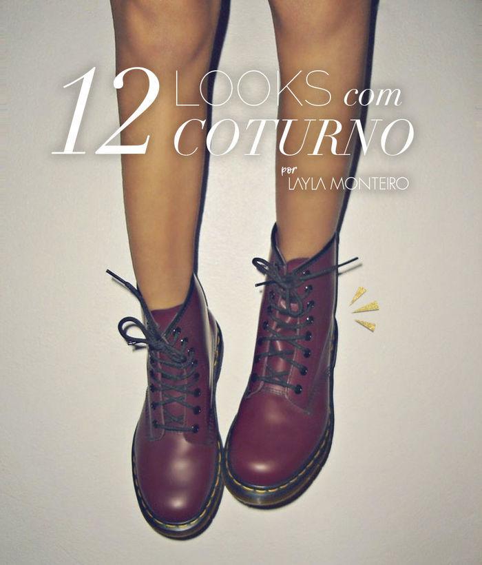 Layla Monteiro como usar coturno 12 looks