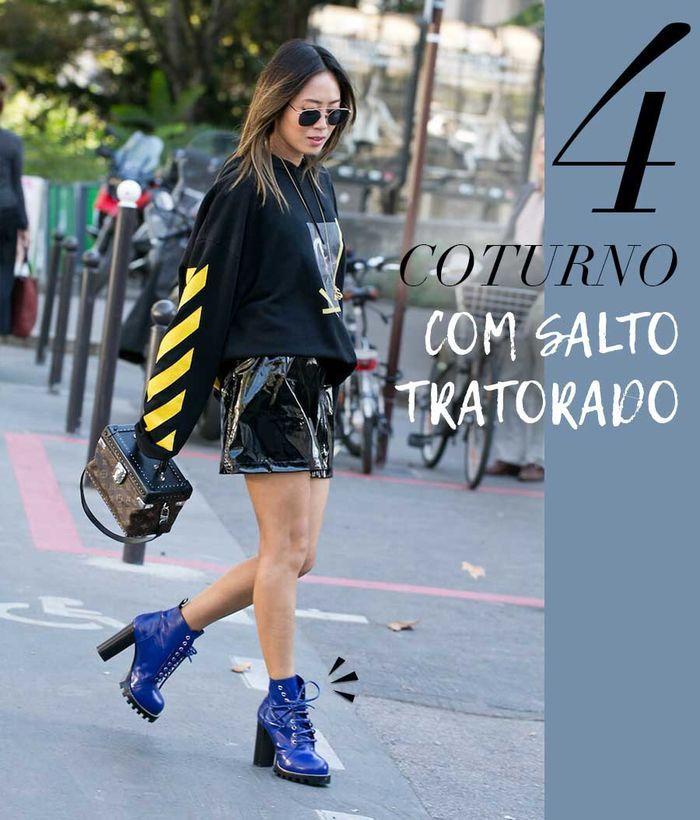 Layla Monteiro Como usar coturno tratorado look aimee song