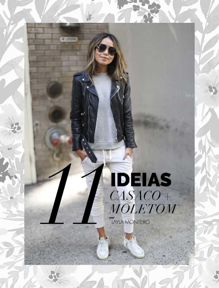 Layla Monteiro 11 dicas como usar moletom com casaco por cima
