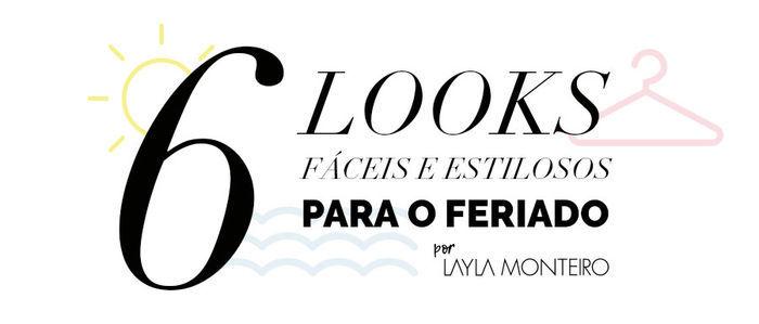 Layla Monteiro dica de look para usar no feriado praia piscina calor