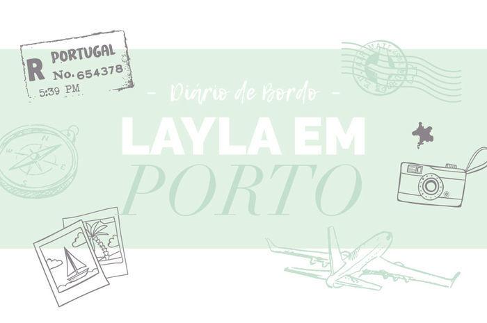 Layla Monteiro viagem em Portugal Porto