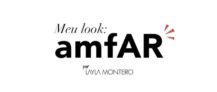 Layla Monteiro vestido Patricia Bonaldi longo bordado decote Amfar 2017