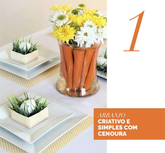 Blog Layla Monteiro dicas decoração páscoa mesa posta coelho louças arranjo simples com cenouras