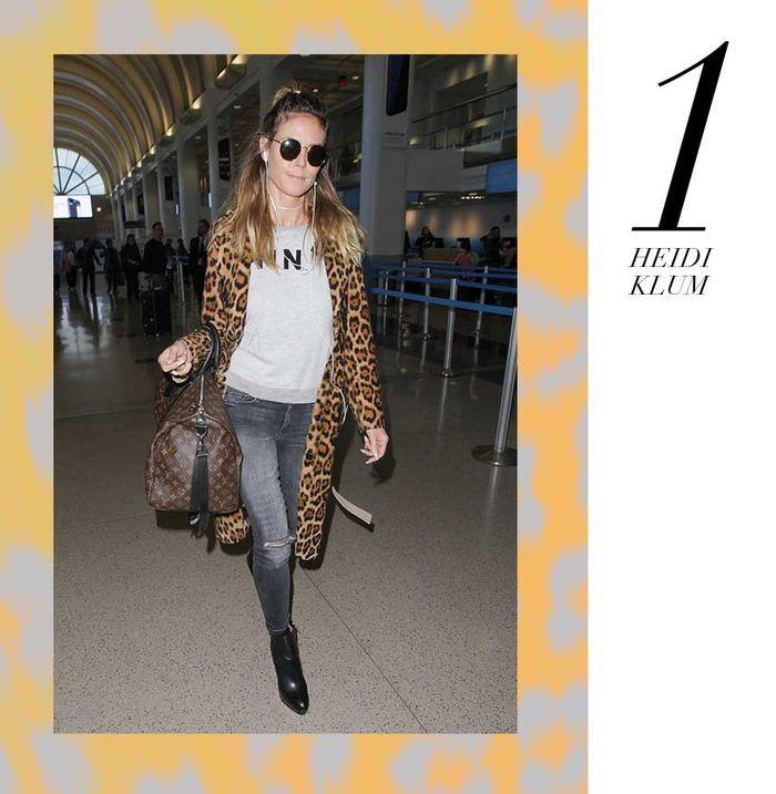 Layla Monteiro 11 dicas como usar moletom com casaco por cima oncinha leopard heidi klum