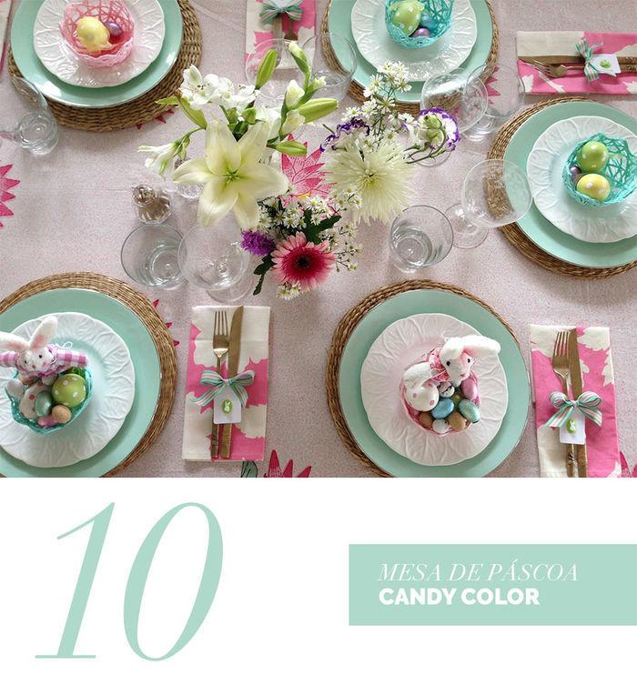 Blog Layla Monteiro dicas decoração páscoa rosa bebê verde água candy color fofo