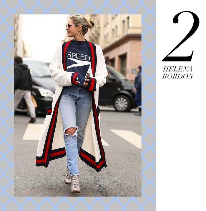 Layla Monteiro 11 dicas como usar moletom com casaco por cima navy azul vermelho branco helena bordon