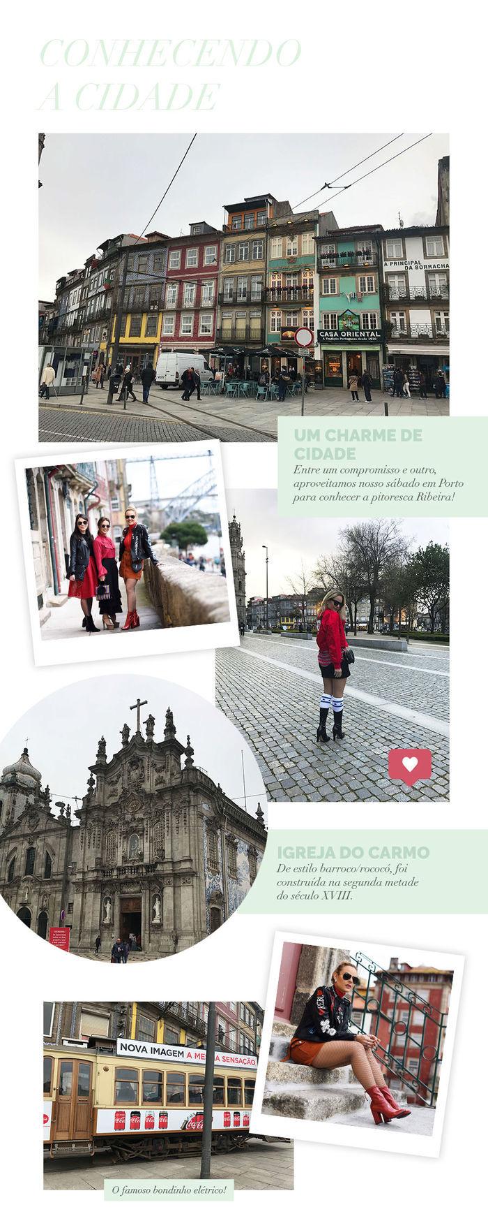 Layla Monteiro em Portugal Porto pontos turísticos Igreja do Carmo bonde elétrico ribeira caras blog
