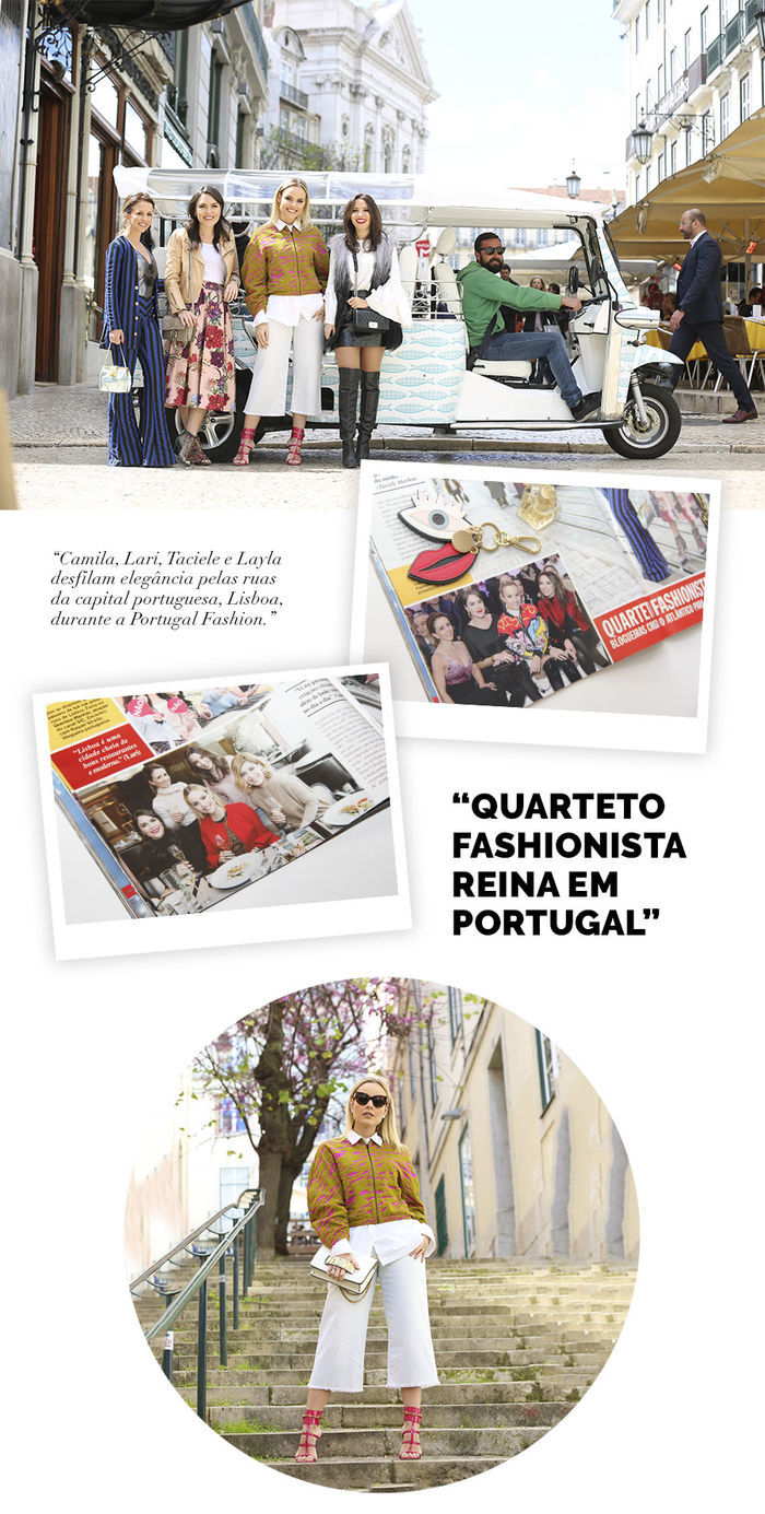 2 Layla Monteiro viaja com Caras Blog matéria Portugal revista Caras com Taciele Alcolea Camila Almeida Lari Duarte