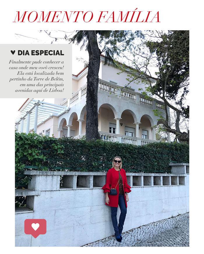 Layla Monteiro em Portugal viajar com companhia aérea avião TAP Portugal como é casa do meu vovô