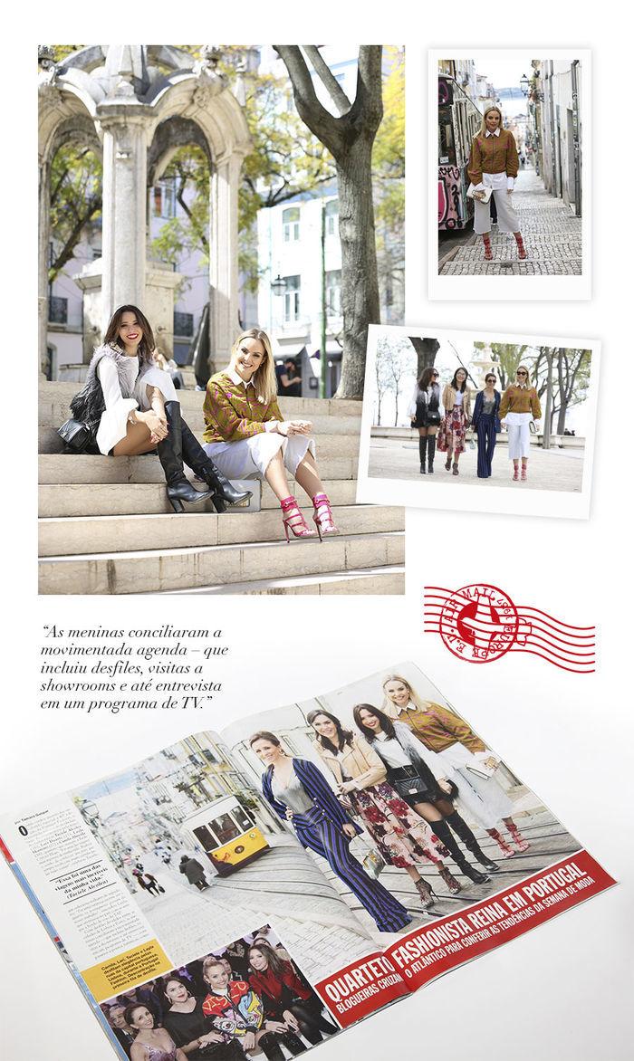 3 Layla Monteiro viaja com Caras Blog matéria Portugal revista Caras com Taciele Alcolea Camila Almeida Lari Duarte
