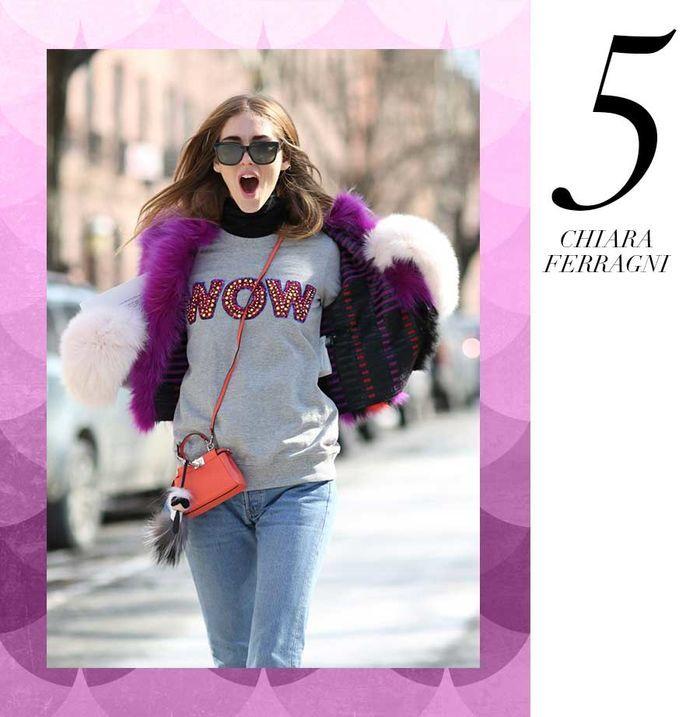 Layla Monteiro 11 dicas como usar moletom com casaco por cima casaco de pelo fake chiara ferragni
