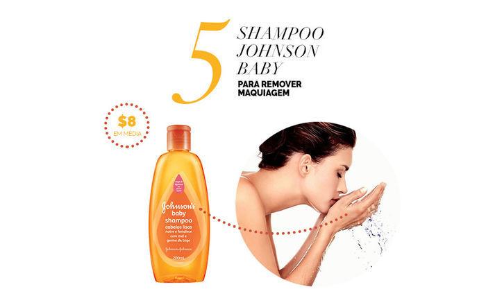 Layla Monteiro dicas de produtos para a pele por até 40 reais shampoo johnson baby laranja para remover maquiagem