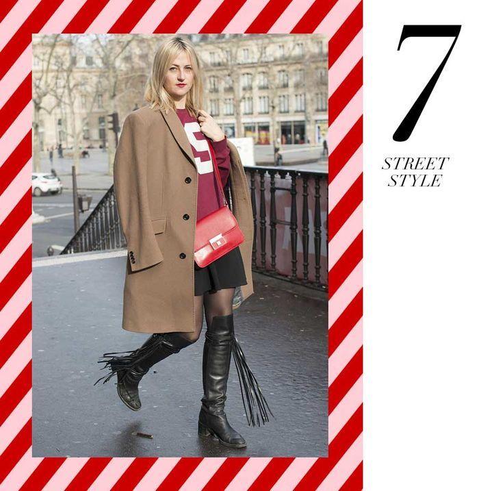 Layla Monteiro 11 dicas como usar moletom com casaco por cima casaco caramelo bege com moletom com número
