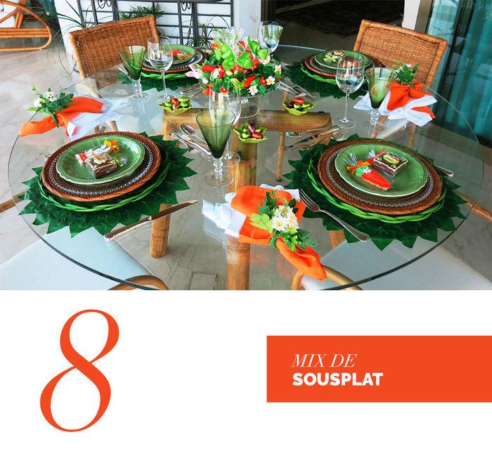 Blog Layla Monteiro dicas decoração páscoa mix de sousplat simples e fácil