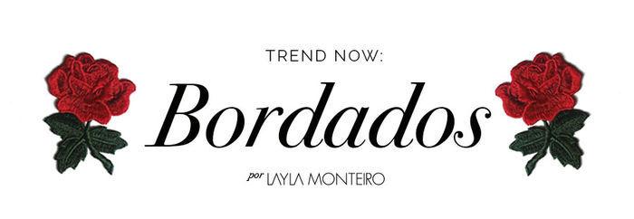 Layla Monteiro tendência como usar peças com bordado