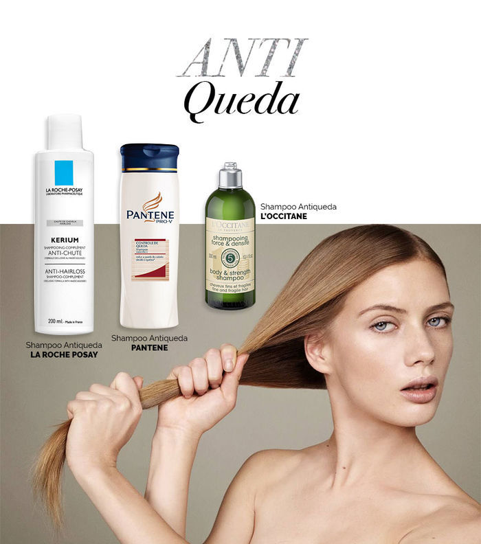 Layla Monteiro dicas cuidados com cabelo no inverno shampoo antiqueda La Roche Posay Pantene L'occitane