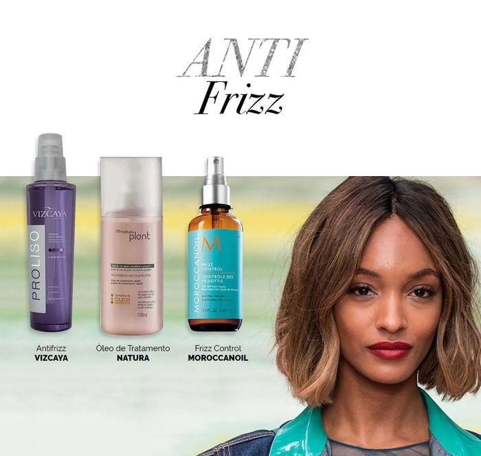 Layla Monteiro dicas cuidados com cabelo no inverno óleo Antifrizz Natura Vizcaya Moroccanoil