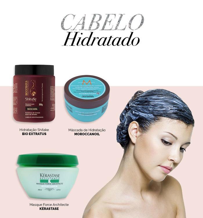 Layla Monteiro dicas cuidados com cabelo no inverno máscara de hidratação Bio Extratus Kérastase Moroccanoil