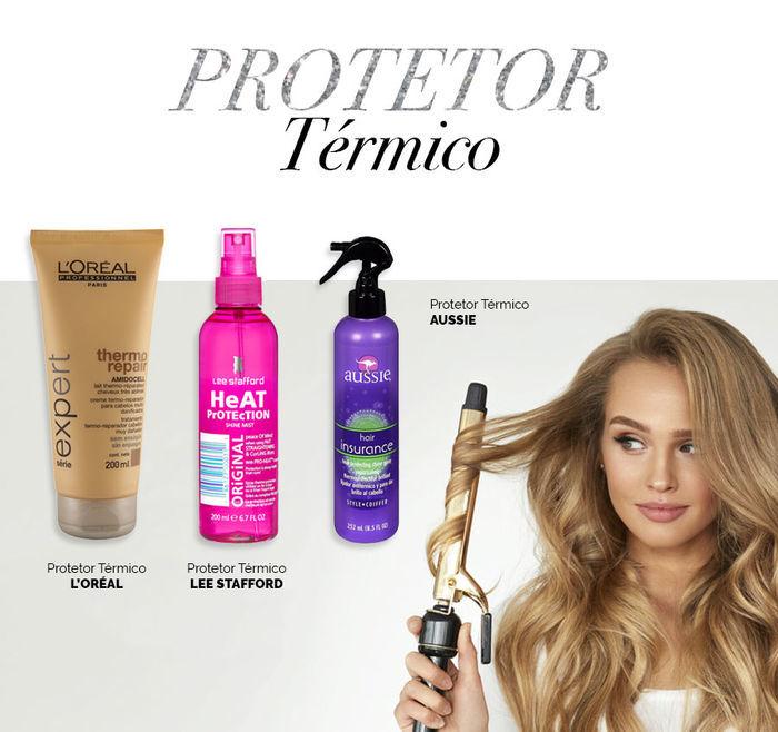 Layla Monteiro dicas cuidados com cabelo no inverno protetor térmico cabelo L'oreal Lee Stafford Aussie