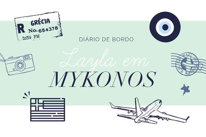 Layla Monteiro noiva pedido de casamento na Grécia viagem dicas Mykonos