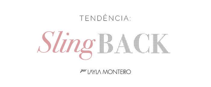 Layla Monteiro slingback sapato com tira no calcanhar como usar