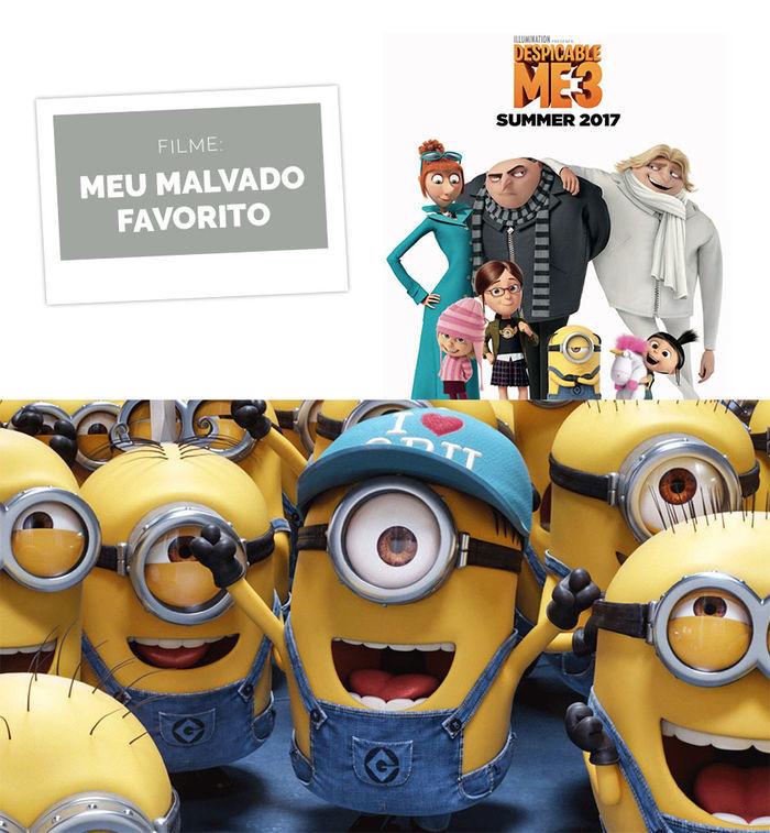 Layla Monteiro dicas filmes para ver nas férias cinema Netflix novos filmes novidades Meu Malvado Favorito