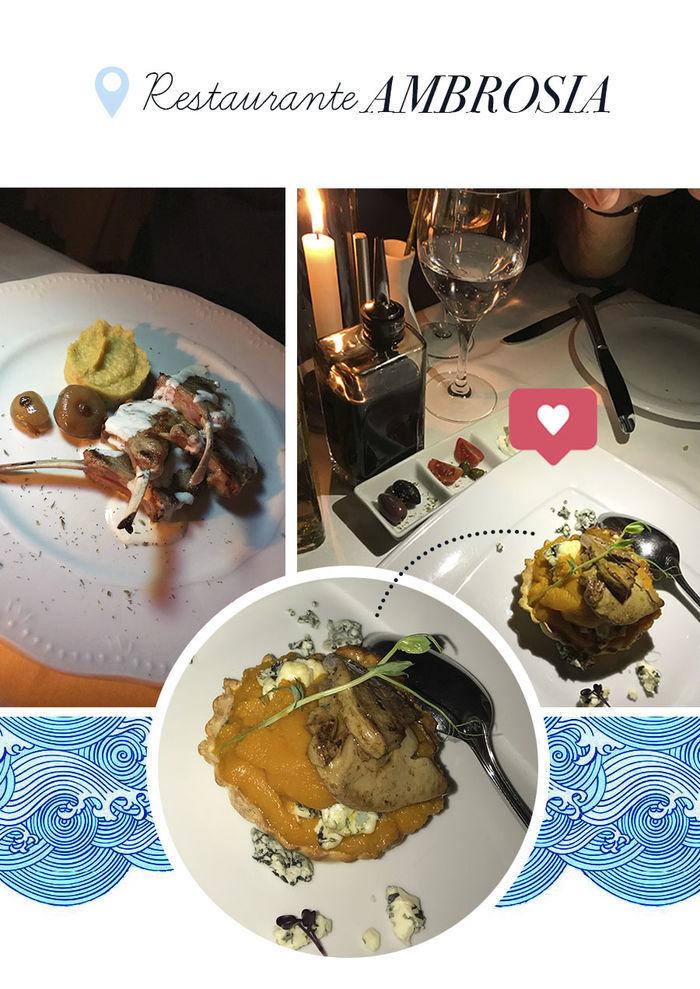 Layla Monteiro noiva pedido de casamento na Grécia viagem dicas Santorini restaurante Ambrosia