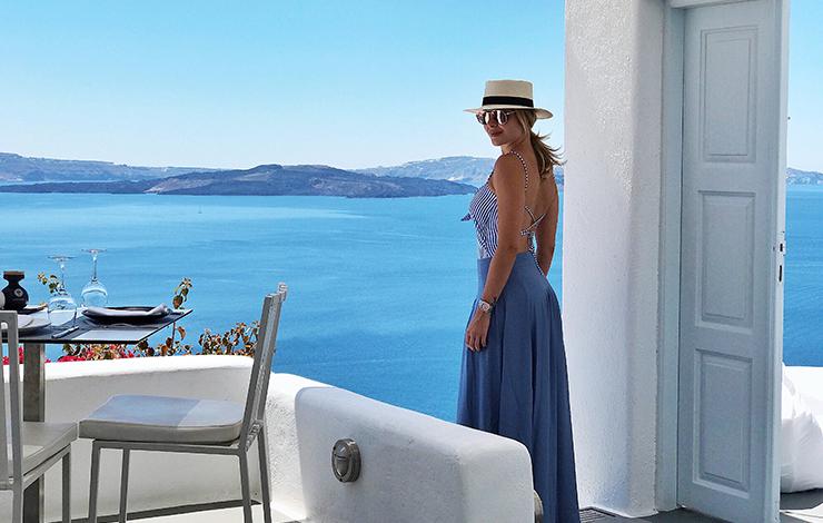 Diário de Bordo: Layla em Santorini