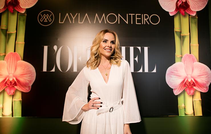 Layla Monteiro e L'officiel Brasil: 5 anos de blog