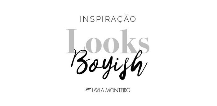 Layla Monteiro looks boyish oxford camisa mocassim tênis Kristen Stewart como usar