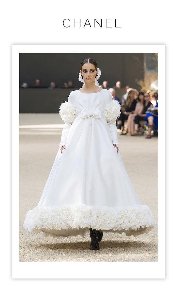 60a4d6e7a Layla Monteiro cobertura vestidos noiva Chanel casamento looks semana de alta  costura Fall 2017