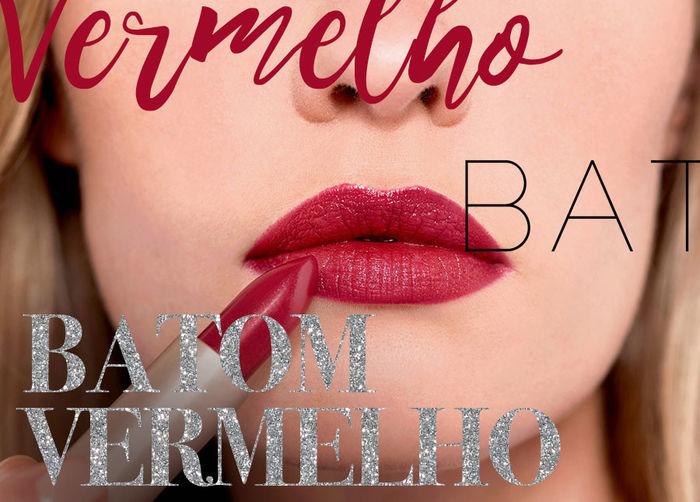 Layla Monteiro - Batom vermelho até 50 reais