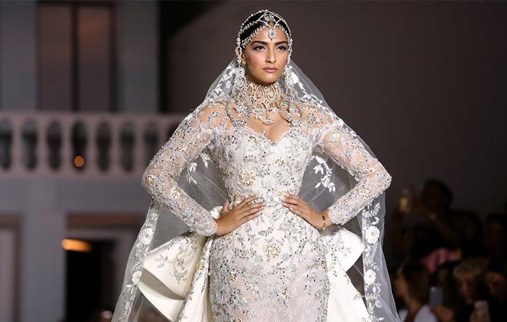 Os vestidos de noiva da Alta Costura