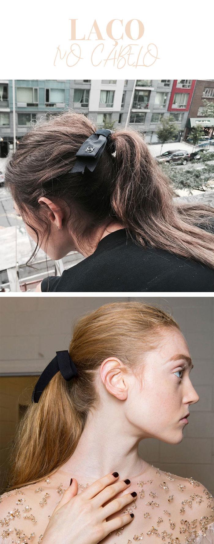 Como usar tendência laços no cabelo - por Layla Monteiro